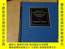 二手書博民逛書店BUSINESS罕見ADMINISTR ATION AN INT