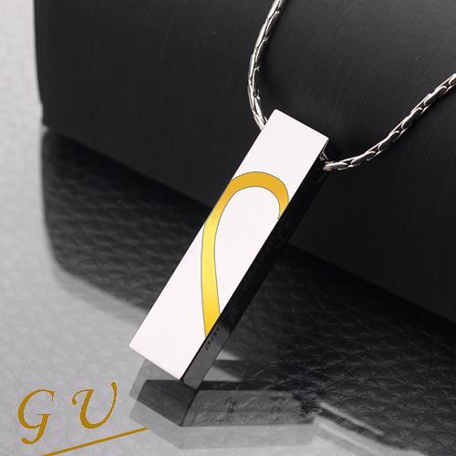 【GU】W55 情人節禮物生日禮物 超越鎢金鎢鋼西德鋼鍊鈦鋼鍊 Agloce情侶烏玄項鍊 單賣