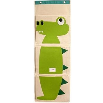 加拿大 3 Sprouts 壁掛式收納袋-小鱷魚[衛立兒生活館]