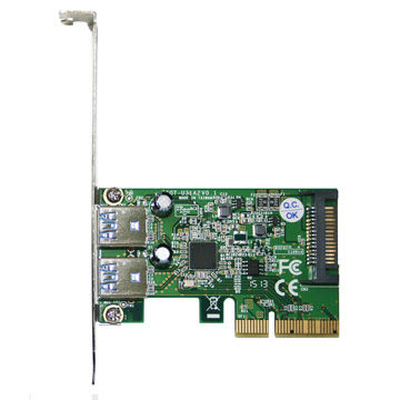 伽利略 PCI-E 4X USB3.1 2 Port PCI-E 擴充卡 PTU312A