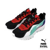 Puma Trailxolf 黑色 皮質 復古 運動休閒鞋 男女款 NO.B0929【新竹皇家 37188901】