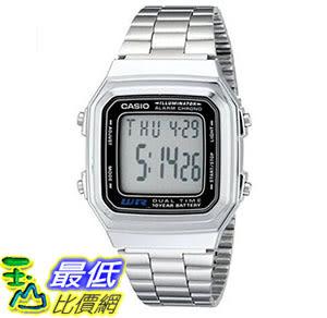 [美國直購] 手錶 Casio Men s A178WA-1A Illuminator Stainless Steel Watch