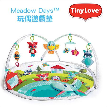✿蟲寶寶✿【美國 Tiny Love】Meadow Days™ -玩偶遊戲墊 - 狐狸兔
