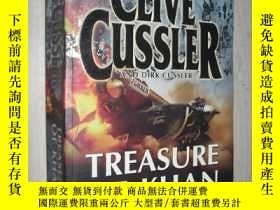 二手書博民逛書店英文原版罕見Treasure Of Khan (Dirk Pit
