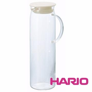 【南紡購物中心】【HARIO】米白把手冷水壺1000ml HDP-10PW