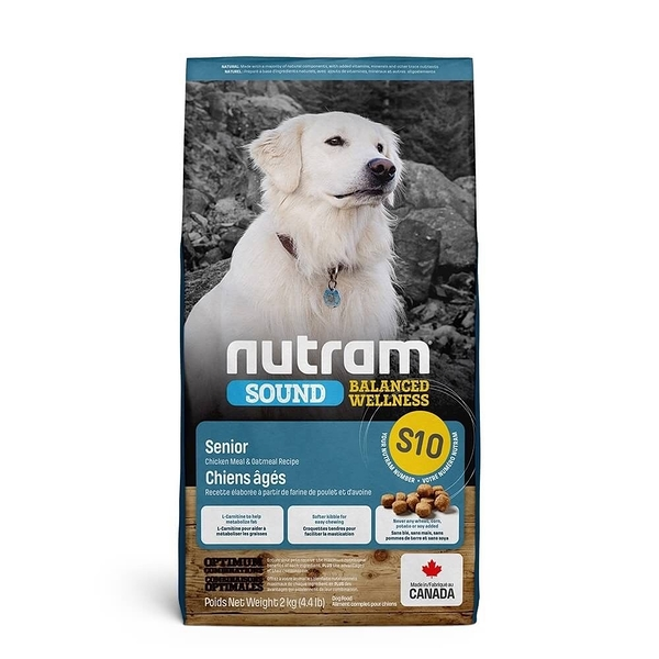 ◆MIX米克斯◆紐頓.S10 老犬(雞肉燕麥) 13.6kg