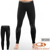 Icebreaker 100481-001黑 男羊毛貼身保暖長褲Oasis 美麗諾控溫內搭褲/排汗衛生褲/透氣貼腿褲