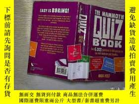 二手書博民逛書店THE罕見MAMMOTH QUIZ BOOK (21)Y2030