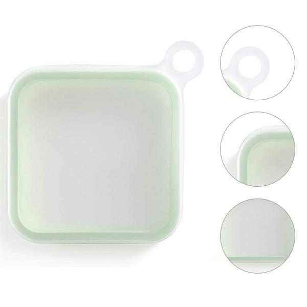 矽膠三明治 吐司餐盒 攜帶餐盒 KXL-125 食物袋 便當盒 保鮮盒