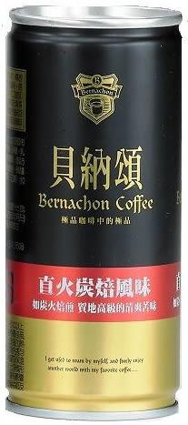 貝納頌-直火炭焙咖啡210ml*4入【合迷雅好物超級商城】