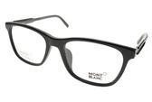 MONTBLANC 光學眼鏡 MB631F 001 (黑) 紳士高品味 平光鏡框  #金橘眼鏡