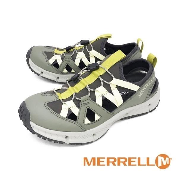 【南紡購物中心】MERRELL (女) HYDROTREKKER SYNTHETIC 水陸兩棲鞋女鞋 - 綠(另有鐵灰)