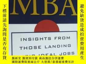 二手書博民逛書店Finding罕見Your Way With An MBA:Insights From Those Landing