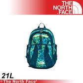 【The North Face 21L 13吋電腦背包《藍綠花叢》】A3RU-S8D/筆電包/登山包/後背包/雙肩包★滿額送