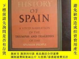 二手書博民逛書店A罕見History Of Spain-西班牙歷史Y436638 Jean Descola Random Ho