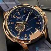 Giorgio Fedon 1919喬治飛登男錶46mm寶藍色錶面寶藍錶帶