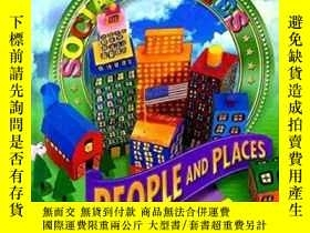 二手書博民逛書店people罕見and places S SOCIAL STUD