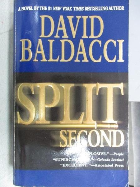 【書寶二手書T6/原文小說_FU7】Split Second_David Baldacci