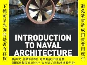 二手書博民逛書店Introduction罕見To Naval Architecture Fifth Edition-海軍建築概論第