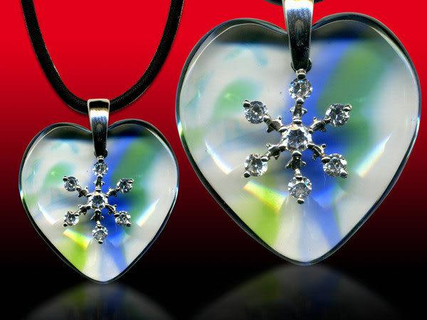 鹿港窯~開運古法水晶琉璃銀飾項鍊~心花怒放◆ 附精美包裝◆免運費送到家