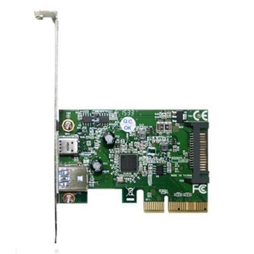 伽利略 PCI-E 4X USB 3.1 1A 1C 擴充卡