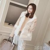 背心外套 冬季新款韓版女士坎肩外穿棉馬甲寬鬆羽絨馬夾背心外套潮 3C公社