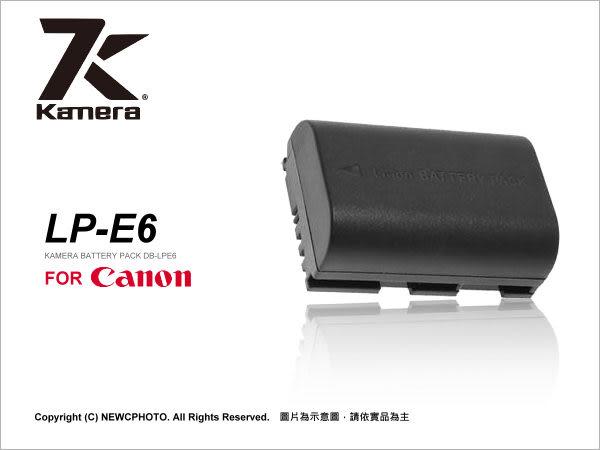KAMERA 佳美能 Canon LP-E6 LPE6 副廠鋰電池 EOS 5D2 5D II 5D3 5D III 7D 60D 60D專用 薪創數位