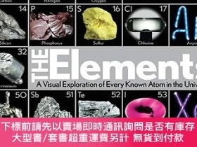 二手書博民逛書店The罕見Elements: A Visual Exploration of Every Known Atom i