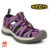 【KEEN】女款WHISPER專業戶外護趾涼鞋-葡萄紫(1018229)全方位跑步概念館
