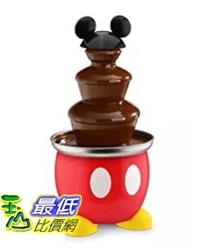 [美國直購] Disney 迪士尼 米奇 米老鼠造型巧克力噴泉 DCM-50 Mickey Mouse Chocolate Fountain, Red