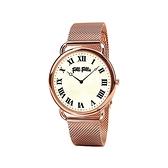 【Folli Follie】Perfect Match羅馬時尚米蘭腕錶-玫瑰金/WF16R014BPS_XX/台灣總代理公司貨享兩年保固