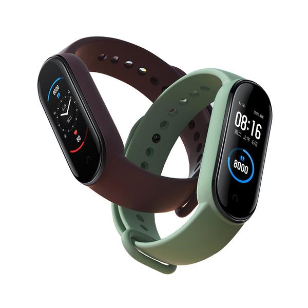 【送腕帶和保貼】小米手環5 標準版   台灣出貨   保固一年   全新動態螢幕 智慧手環 運動手環