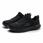 SKECHERS 慢跑鞋 GO RUN 400 V2 全黑 網布 運動 休閒鞋 女 (布魯克林) 128003BBK