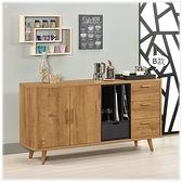 【水晶晶家具/傢俱首選】JM1949-1喬納森5尺低甲醛木心板收納櫃