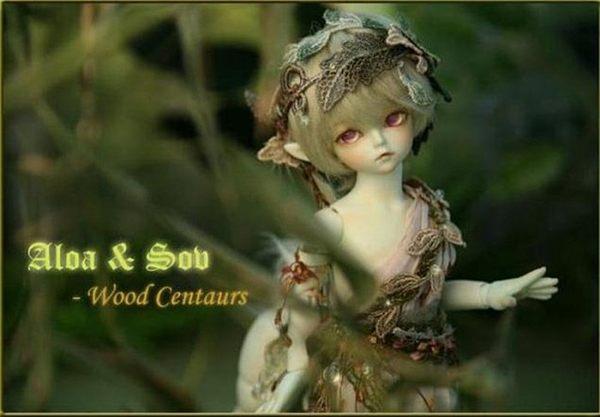 soom Aloa Sov Centaurs bjd/sd娃娃dod ai volks1/6bb馬luts【藍星居家】