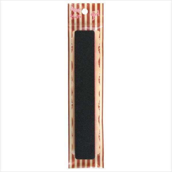 MEKO 長方形水晶指甲銼板 AB-063/磨甲銼/雙面磨甲銼