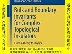 二手書博民逛書店Bulk罕見And Boundary Invariants Fo