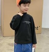男童上衣 2021新款春兒童長袖T恤童裝男童德絨打底衫男孩洋氣加厚上衣潮【快速出貨八折鉅惠】