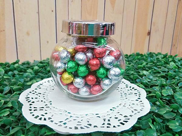 玻璃糖果罐 婚禮小物 二次進場 開幕禮 姊妹禮 包裝盒 生日 耶誕節【皇家結婚百貨】
