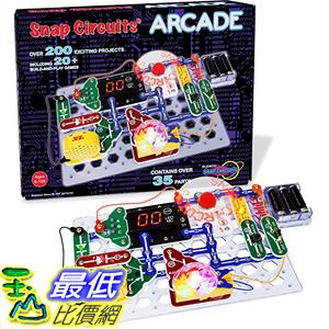 [106美國直購]  Snap Circuits Arcade Electronics Discovery Kit