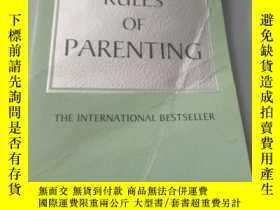二手書博民逛書店the罕見rules of parentingY218789