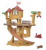 日本森林家族 森林探險樹屋_EP14048(不含娃娃) EPOCH原廠公司貨