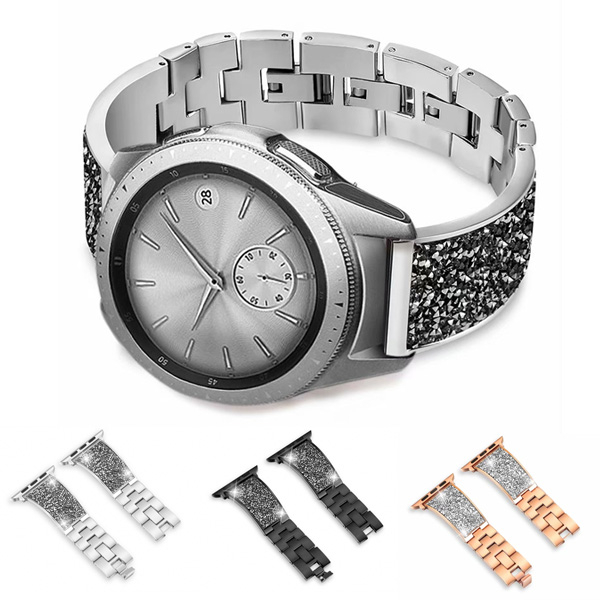 Apple Watch Series 錶帶 S6錶帶 S5錶帶 S4錶帶 S3錶帶 磨砂鑽錶 金屬 蘋果錶帶 38mm 40mm 42mm 44mm