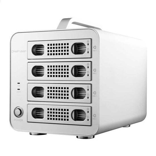 [哈GAME族]免運●送譯典通一年版●伽利略 35D-U3ES4M USB3.0+eSATA 1至4層抽取式鋁合金硬碟外接盒