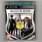 【PS3原版片 可刷卡】☆ 黑街聖徒 雙重包 黑街聖徒3+黑街聖徒4 ☆英文亞版全新品