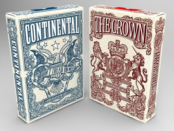 【USPCC 撲克】Independence standard continental/crown deck