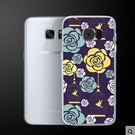 ♥ 俏魔女美人館 ♥Samsung Galaxy S7 Edge {花*輕立體浮雕硬殼} 手機殼 手機套 保護殼