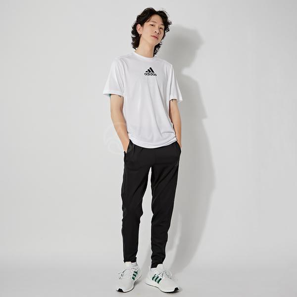 Adidas M 3S BACK TEE 男 白 慢跑 運動 短袖 GM2135