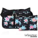 LeSportsac - Standard雙口袋A4大書包-附化妝包 (夢幻花園) 7507P F936
