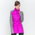TOP GIRL 拼接鋪棉外套-中紫